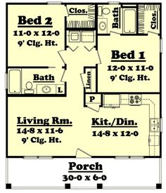 ideas about Guest House Plans on Pinterest   Guest Houses    Country Style House Plans   Square Foot Home   Story  Bedroom and