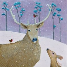 """Dear Sno' Deer"" by Ailsa Black"