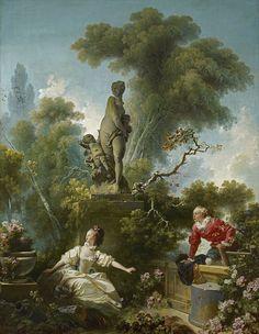 Jean-Honoré Fragonard - Les Progrès de l'amour - Le rendez-vous - Google Art Project - Jean-Honoré Fragonard - Wikipedia, the free encyclopedia