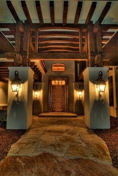 Nice grand entrance.