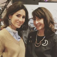 #TranoiMoments Deborah Reyner Sebag of @thedailydeb with jewellery designer @reinerosalie at #TranoiCarrousel during #TranoiFemme. Looking lovely ladies  by tranoi_show