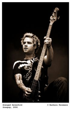 Johnny Christ. Avenged Sevenfold.