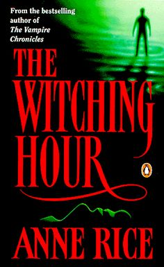 Anne Rice writes about a family of witches that spans generations. Love it.