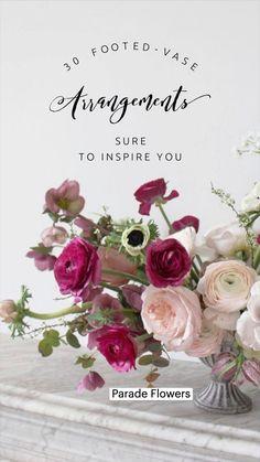 Faux Flowers, Pink Flowers, Beautiful Flowers, Modern Flower Arrangements, Vase Arrangements, Special Flowers, Mothers Day Flowers, Origami Bouquet, Mother's Day Bouquet