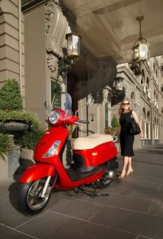 Mijn volgende scooter :P Sym fiddle II Yamaha Scooter, Vespa Bike, Scooter Girl, Go Kart, Scooters, Motorbikes, Motorcycle, Classic, Vehicles