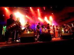 Riduan Zalani, Idham Budiman, and Samba Masala share the stage with Batucada Sound Machine at the Coburg Festival 2014. Riduan plays his tru...