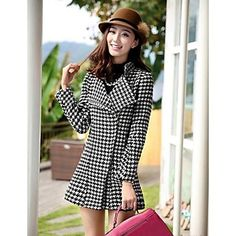 moda zíper casaco de lã