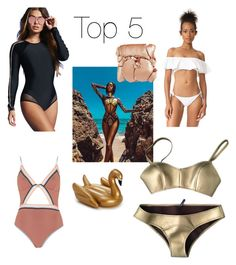 """""""Top Beach lover 🏝🏄🏾♀️"""" by taallia on Polyvore featuring Forever 21, Jaded, L*Space, River Island, Lisa Marie Fernandez and Illamasqua"""