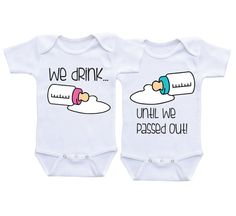 Boy Girl Twins Baby gifts Matching boy girl by DAIICHIBANdesigns