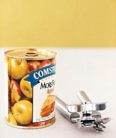 Use a can opener to liberate items from clamshell packaging (a.k.a. those impossible-to-open hard plastic shells).