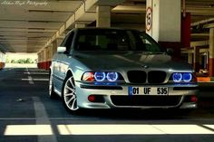 BMW E39 M5 grey