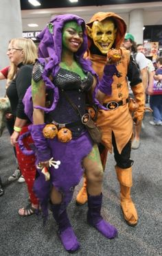 Cosplay Hobgoblin u0026 Green Goblin  sc 1 st  Pinterest : green goblin costume for adults  - Germanpascual.Com