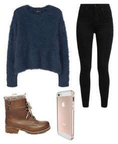 """""""Untitled #52"""" by mayaali on Polyvore featuring MANGO, Levi's and Steve Madden"""