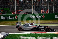 McLaren-Honda MP4-31 during Friday free practice session of the 2016 Formula One Italian Grand Prix at the Autodromo Nazionale Monza.