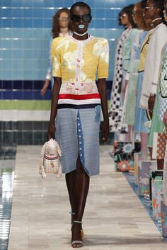 The spring 2017 Thom Browne show was basically like a Slim Aarons LSD trip in the absolute best way possible