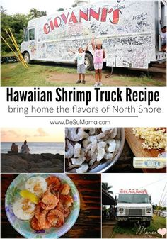 The best Hawaiian Shrimp Truck recipe from North Shore, Oahu! So much garlic and butter makes it a savory, indulgent week night dinner recipe.