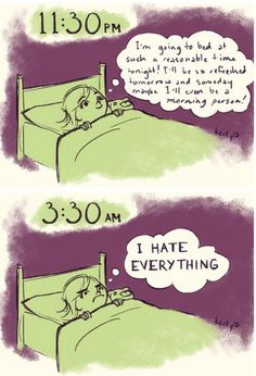 I'll never be a morning person at this rate =.=
