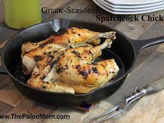 Greek-Seasoned Spatchcock Chicken