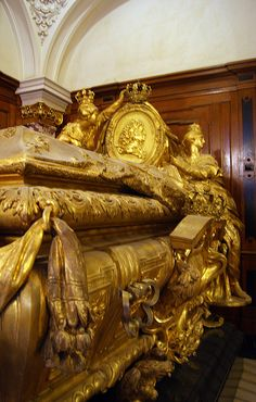 Famous Graves-Sarcophagus of Frederick 1 of Prussia, Berlin died 1713