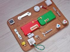 Busyboard. Smart busy board for your children. Braun Vision