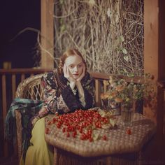 evening by Anka Zhuravleva, via Simply Red, Classic Paintings, Ancient Artifacts, Profile Photo, Cute Drawings, Face And Body, My Works, Travel Style, Fairy Tales