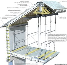 Insul-Deck Insulated Concrete Forms for Floors & Roofs Insulated Concrete Forms, Structural Insulated Panels, Deck Construction, Residential Construction, Precast Concrete Panels, Roof Truss Design, Deck Design, Roof Detail, Ceiling Detail