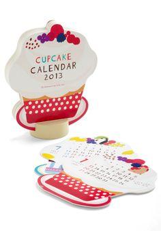 Sprinkle in Time 2013 Desk Calendar |  ModCloth.com
