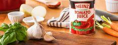 Heinz Tomato Juice Recipes - Kraft Canada Tomato Juice Recipes, What To Cook, Stew, Snack Recipes, Chips, Tasty, Canada, Cooking, Food