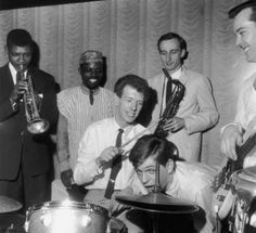Georgie Fame and Band at the Flamingo, Wardour Street, early 1960s