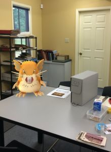 Raticate in the Oshawa Archives. In our latest blog post, our Museum Studies Intern looks at problems pests can cause for Museums - if Pokemon were real, they would cause real concerns in the Museum!