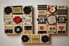 Decorated Tile Magnets