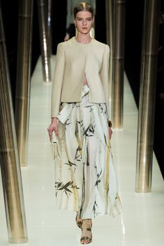 Armani Privé Spring 2015 Couture Fashion Show - Kadri Vahersalu (PREMIUM)