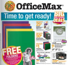 OfficeMax Back To School 2012 Weekly Ad July 8-14 http://www.frugallivingandhavingfun.com/2012/07/officemax-back-to-school-2012-weekly-ad-july-8-14/ #BackToSchool #OfficeMax
