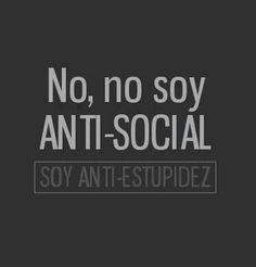 No soy antisocial