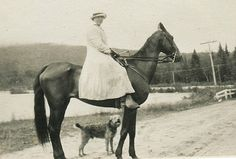 Lady with an Airedale Terrier, date and place unknown
