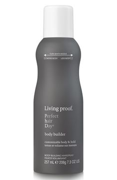 A customizable body building hairspray that creates instant, buildable body with airiness, movement and light hold. Customizable nozzle Instant buildable body Adds airiness and movement to styled hair Light, touchable hold Heat protection (up to 450°F/230°C) Paraben-free Phthalate-free Safe for chemically treated hair Silicone-free Color safe PETA Certified Cruelty-free Heat Protection Static Protection How to Use Turn nozzle for more (M) or less (L) body. #LegHairRemoval Permanent Facial Hair Removal, Back Hair Removal, Underarm Hair Removal, Electrolysis Hair Removal, Remove Unwanted Facial Hair, Hair Removal For Men, Unwanted Hair, Popsugar, Body