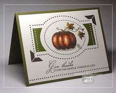 Card stamped with The Simple Things StampTV kit from Gina K. Designs.  Card also Fabulous Frame Fillers stamp set by Melanie Muenchinger. Click link for creation details : http://melaniemuenchinger.blogspot.com/2014/09/inspiration-hop-day-1-simple-things.html