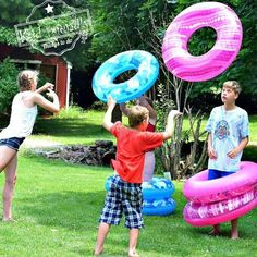 Summer outdoor games for kids ring toss 20 Ideas for 2019 Balloon Games For Kids, Group Games For Kids, Water Games For Kids, Games For Teens, Adult Games, Family Games, Carnival Games For Kids, Kids Party Games, Birthday Party Games