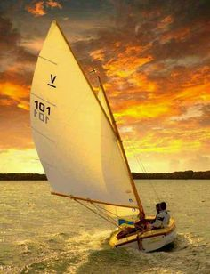 #Sailing into the sunset ~ with www.SailChecker.com