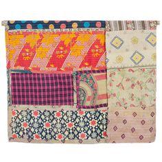 Large Kantha Patchwork quilt