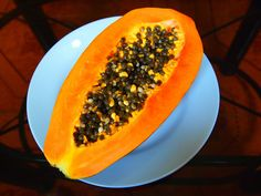 """Papaya also known as """"pawpaw"""" is grown in tropical climates and has a vibrant orange color and when ripe has a sweet tasting, with a butter-like consistency flesh. This delicious fruit has many health benefits and I will discuss a few of them below. The benefits also include eating the seeds. Papaya's seeds are edible, …"""