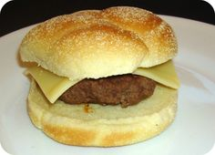 French dip burger with swiss cheese