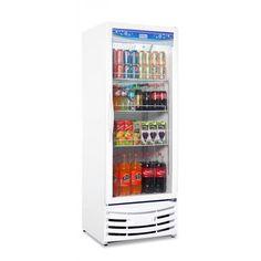 Geladeira / Refrigerador Expositor Vertical Porta de Vidro 410 Lts (Visa Cooler) - Frilux (P-RF-004)
