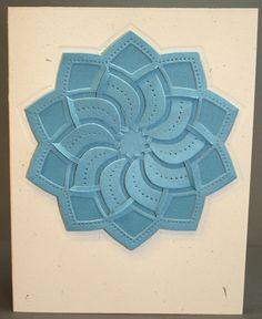 Cut Fold Tuck Spellbinder Card - by Coastal Papercrafting