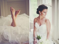 LOVE the feet!    Belle the Magazine . The Wedding Blog For The Sophisticated Bride