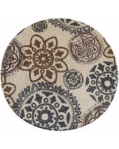 Snag this New Year's Sale! 40% Off Food Network™ Medallion Round Placemat, Multicolor
