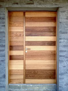 Porte d 39 entr e en bois massif simple nativ1 zilten - Hole d entree ...