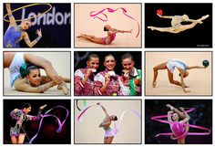 Tribute to Olympic gymnasts 2012.  by Falcon Writing, via Flickr
