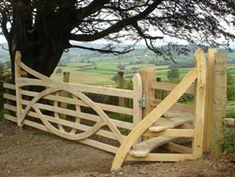 gate and stile by Karen Hansen Stock Fencing, Garden Gates And Fencing, Horse Fencing, Arch Gate, Fence Gate, Fences, Door Arbor, Pallet Garden Furniture, Portal