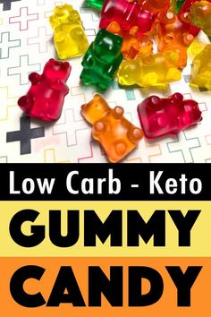 These Keto gummy bears have zero carbs, so they make great low carb treats. And you can eat all the sugar free gummies that you like, with zero guilt.